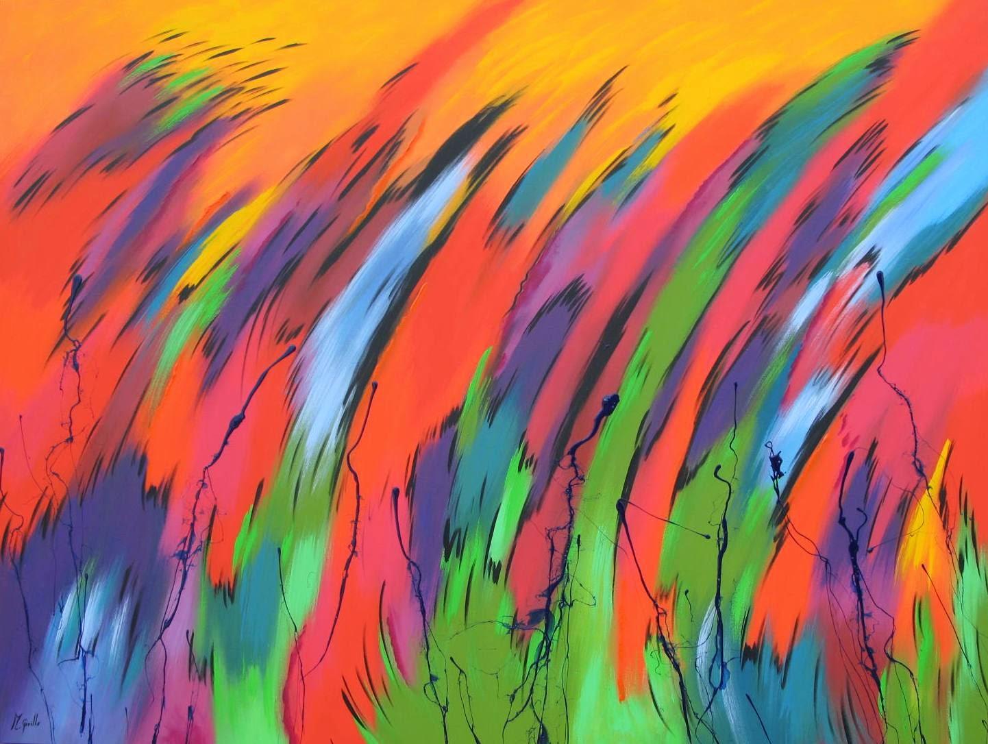 Cuadros pinturas arte como hacer un cuadro rapido - Pintar un cuadro moderno ...