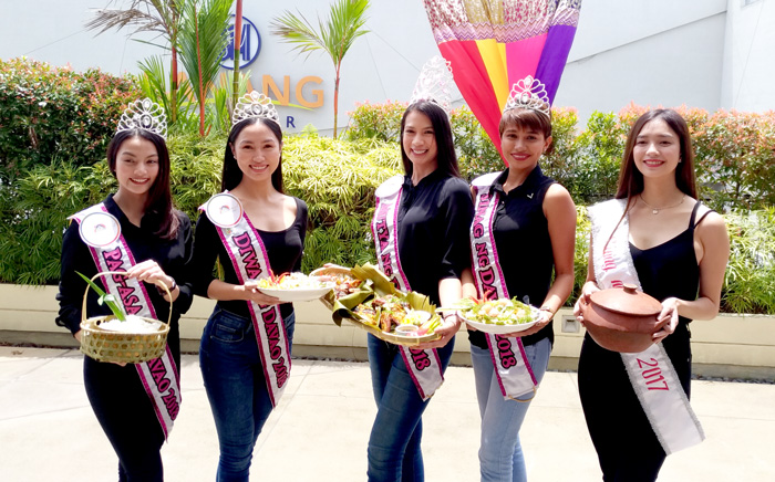 Mutya ng Davao and her court at the launch