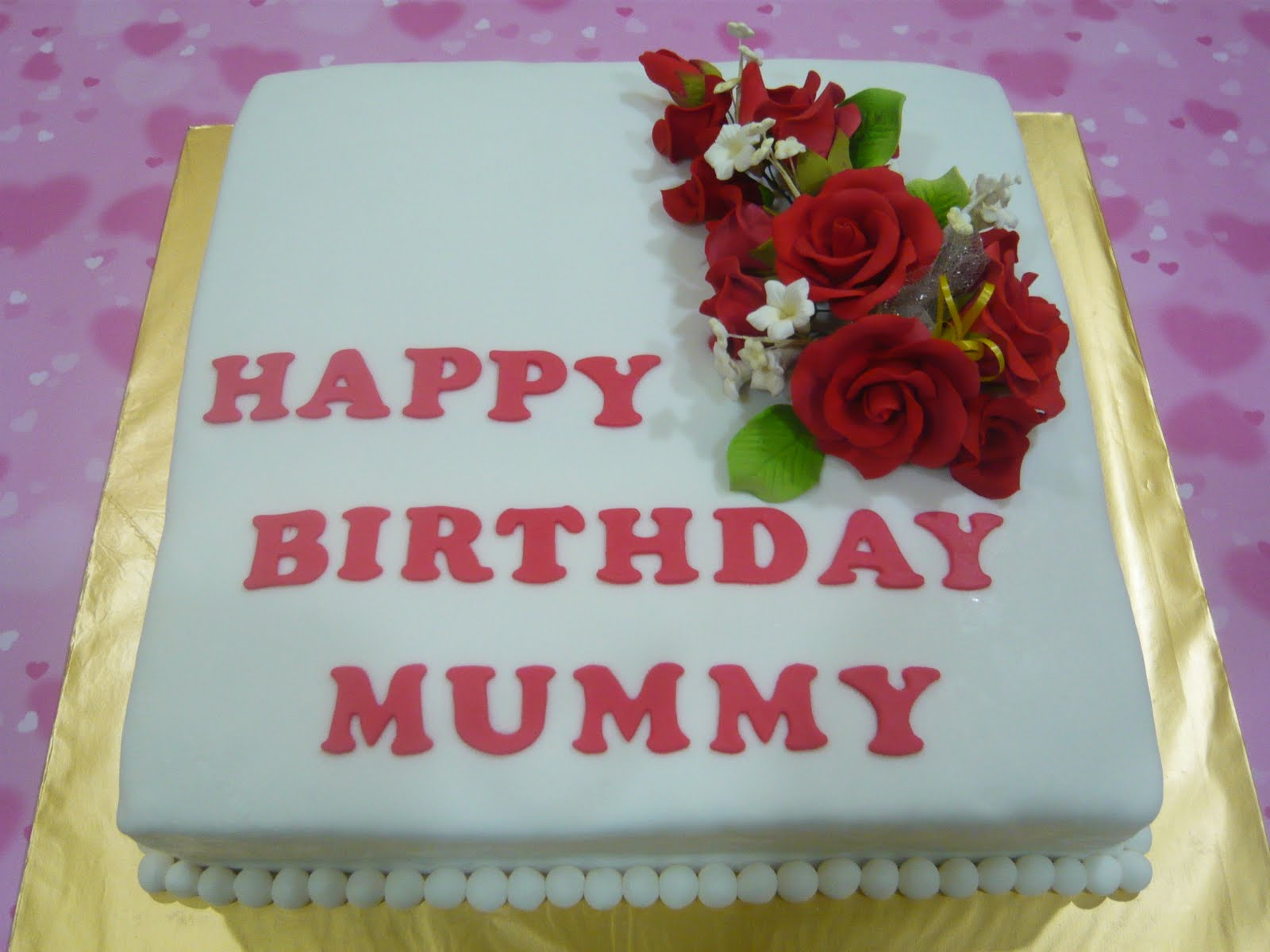 Jenn Cupcakes & Muffins: Happy Birthday Mummy