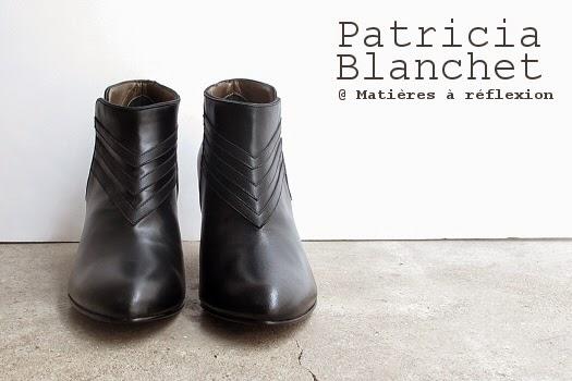Low boots Patricia Blanchet Igor noir : black is black !