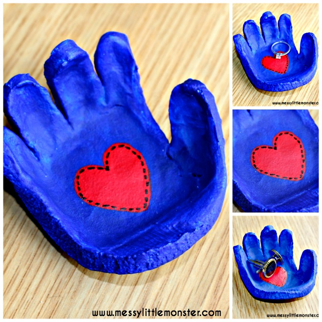 salt dough handprints candle holder keepsakes 57 things to make with salt dough for tips from 7894