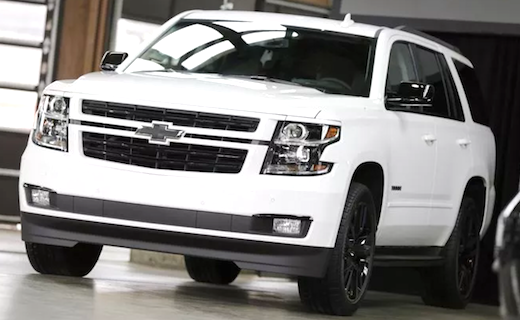 2019 Chevy Tahoe RST Release Date