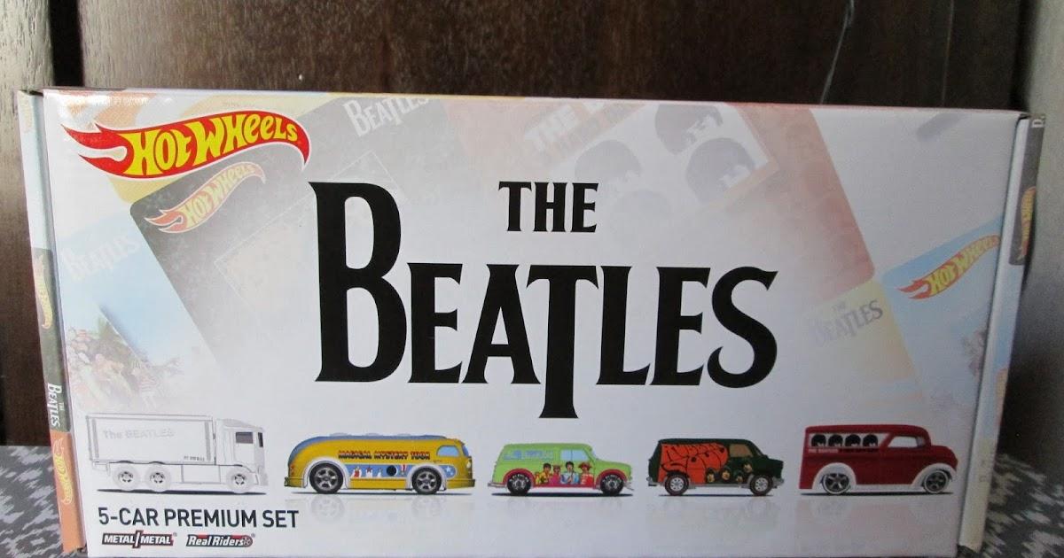 The Beatles Through The Years The Beatles Hot Wheels 5 Car Premium Set