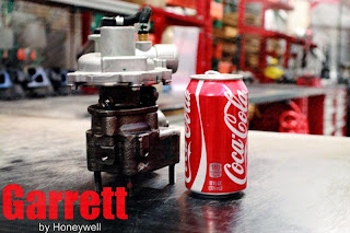 Tiny Garrett GT06 Turbocharger VS Coca Cola Can