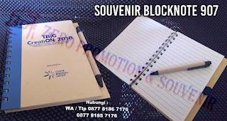 block note promosi, block note seminar, Souvenir Blocknote, Memo promosi 907
