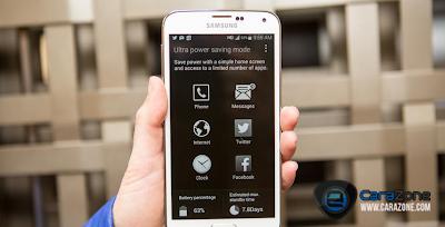 Cara Meningkatkan masa pakai baterai pada Galaxy S5