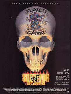 WWE / WWF Survivor Series 1998 Deadly Game - Event poster