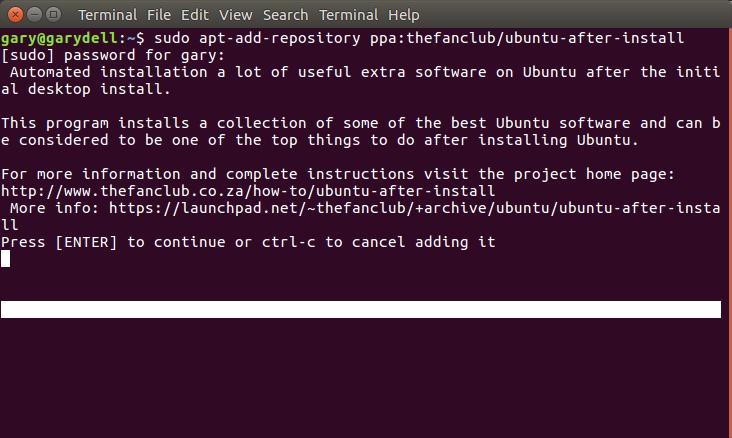 install chrome linux ubuntu 16.04
