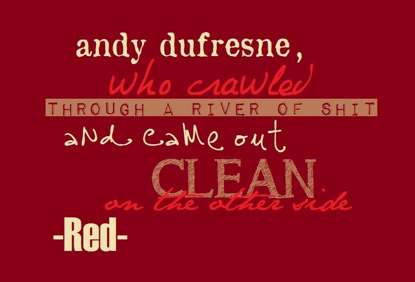 The New Age Nerd: Shawshank Redemption Quotes...