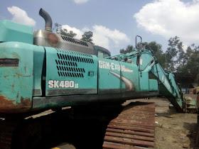 Dijual Excavator Kobelco SK480LC-8 Tahun 2011