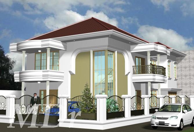 model rumah klasik 3