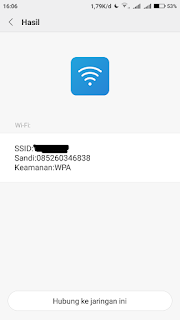 Cara mengetahui Password Wifi di HP Android Xiaomi