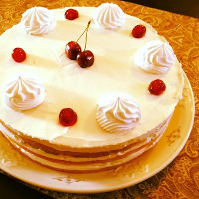 עוגת שכבות טורט כמו של סבתא