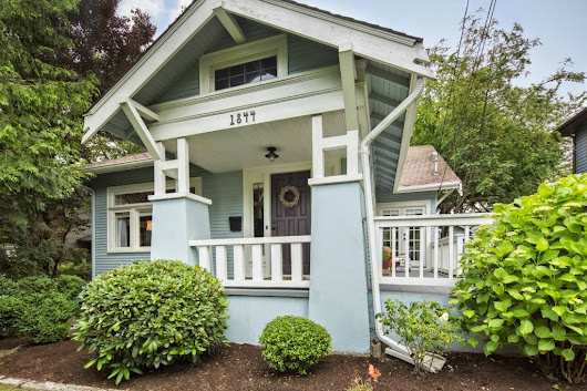 House Spy Friday: Seattle Arboretum Craftsman