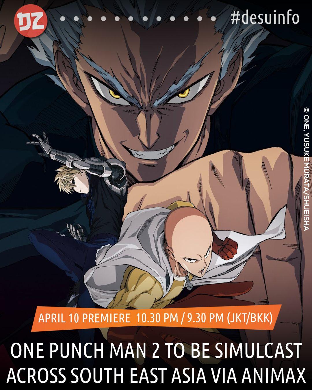 one punch man season 2 southeast asia