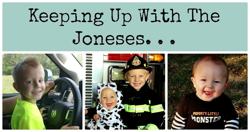 Keeping Up With The Joneses...