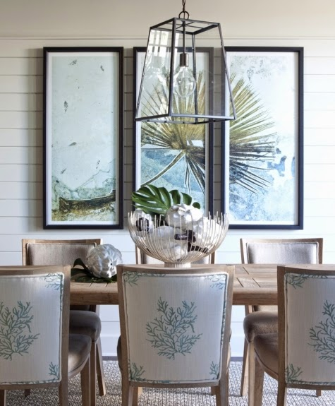 coral dining room chairs