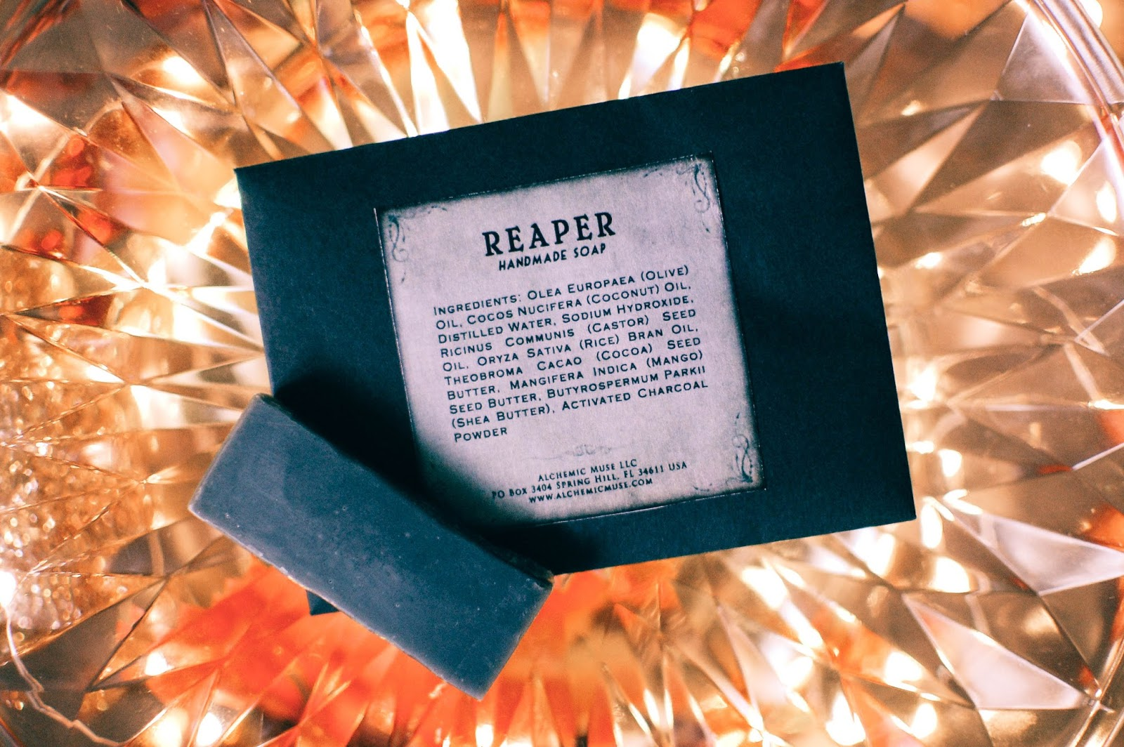 b553c7446f2 Free sample soap sliver in Reaper was generously added to my order. It may  be my next purchase as well as more Vanilla Oak. Reaper is a another  version of ...