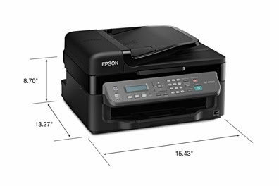Lowest printing toll for everyday purpose alongside genuine Epson ink Download Driver Epson WorkForce WF-M1560