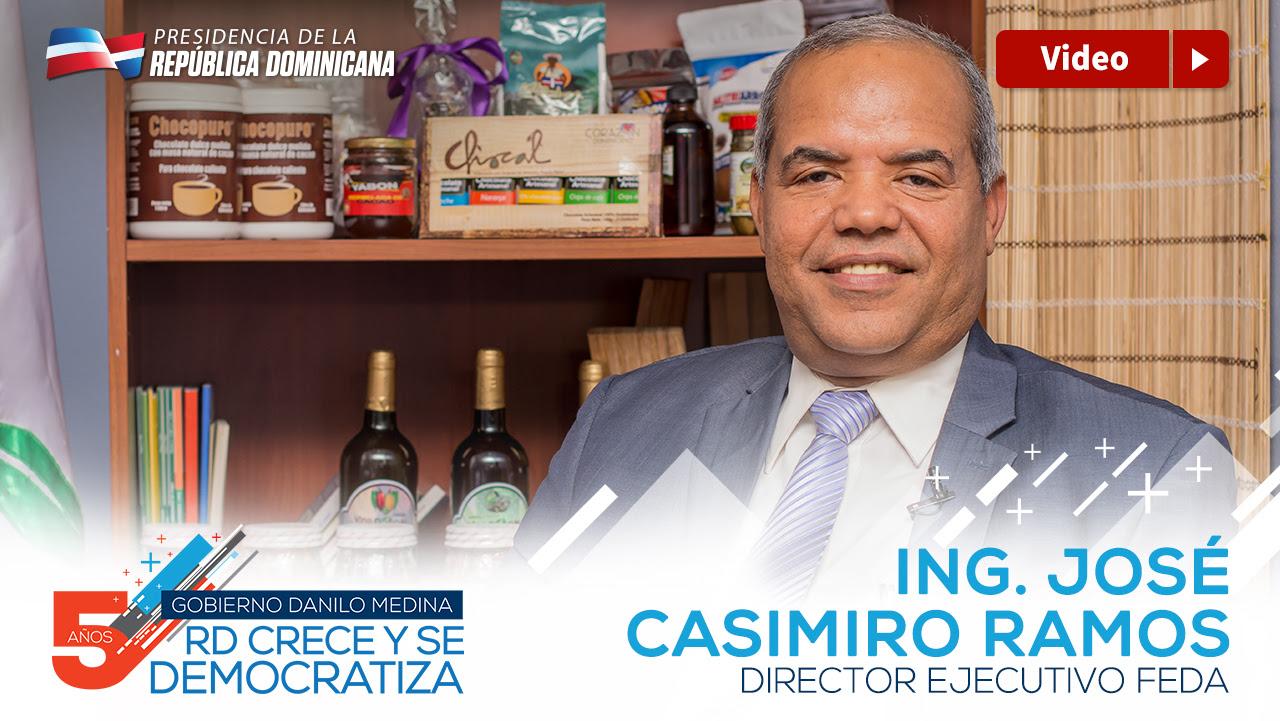 VIDEO: José Casimiro Ramos, director ejecutivo del FEDA