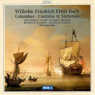 W. F. E Bach - Cantatas & Sinfonias