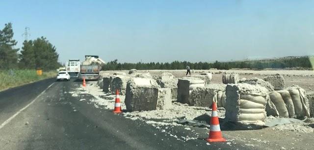 Bozova'da pamuk balyaları yola saçıldı
