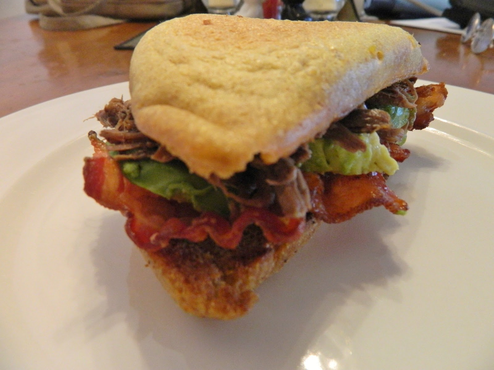 Ginny S Low Carb Kitchen Roast Beef Bacon And Avocado
