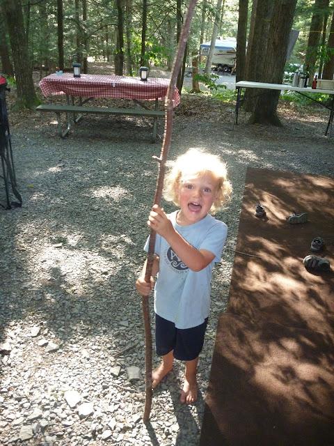Mad Squirrels and Free Coffee: Rip Van Winkle Campground