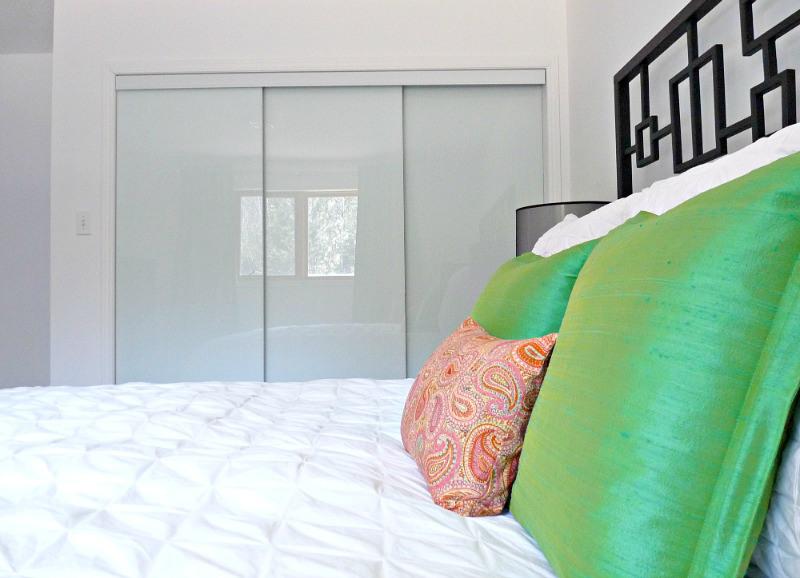 Triple Sliding Closet Door Modern