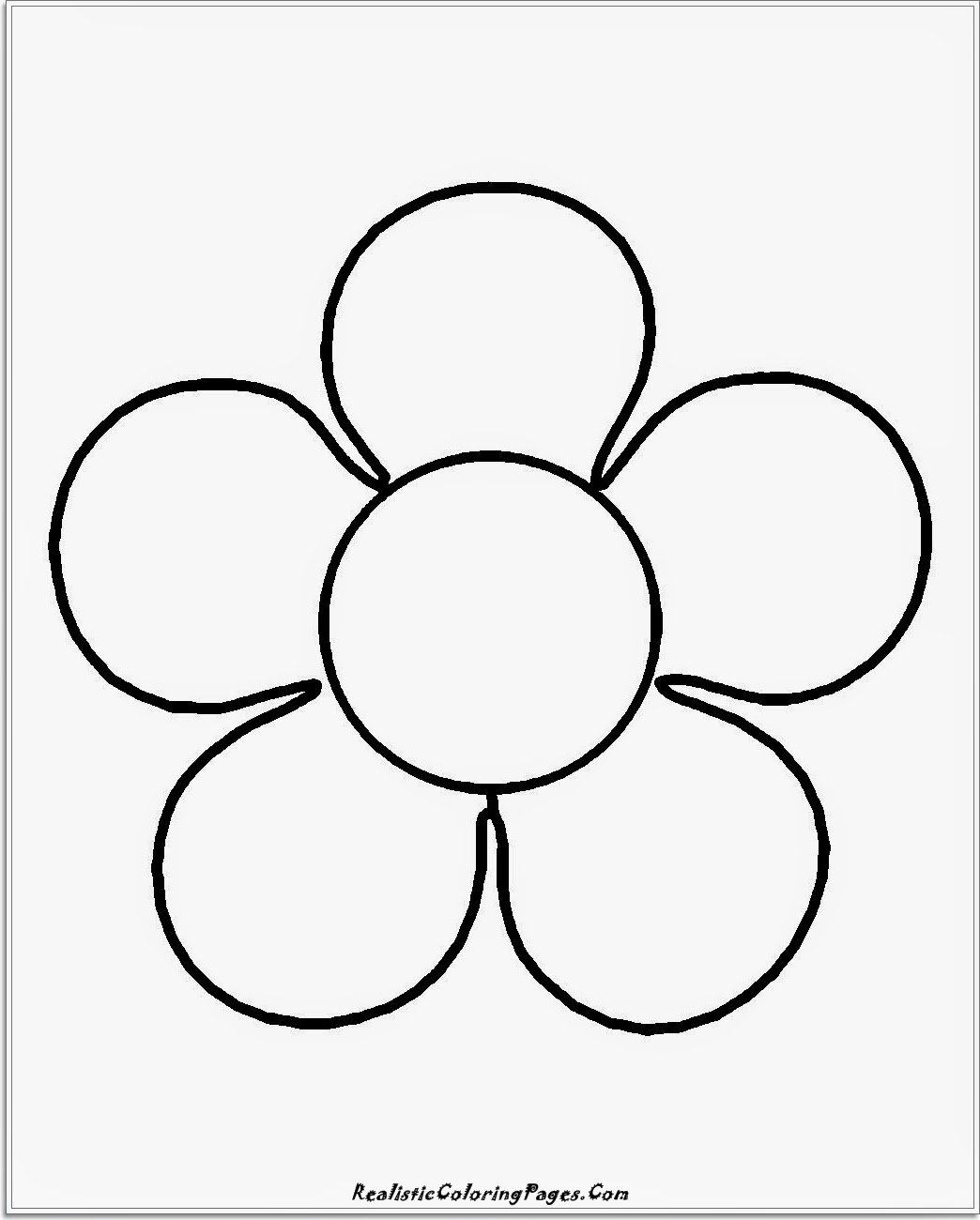 14 simple nature coloring pages realistic coloring pages for Easy flower coloring pages