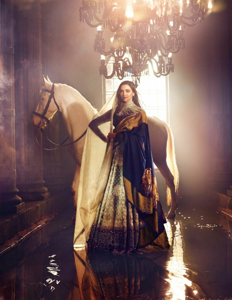 Deepika Padukone on Vogue India Magazine Cover November 2016 Issue 06