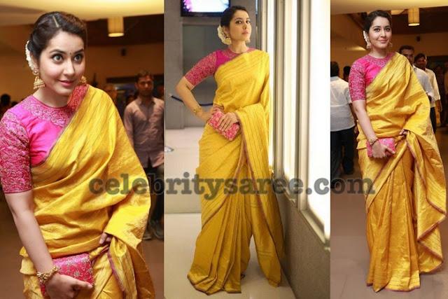 rashi-khanna-kanjeevaram-silk-saree1