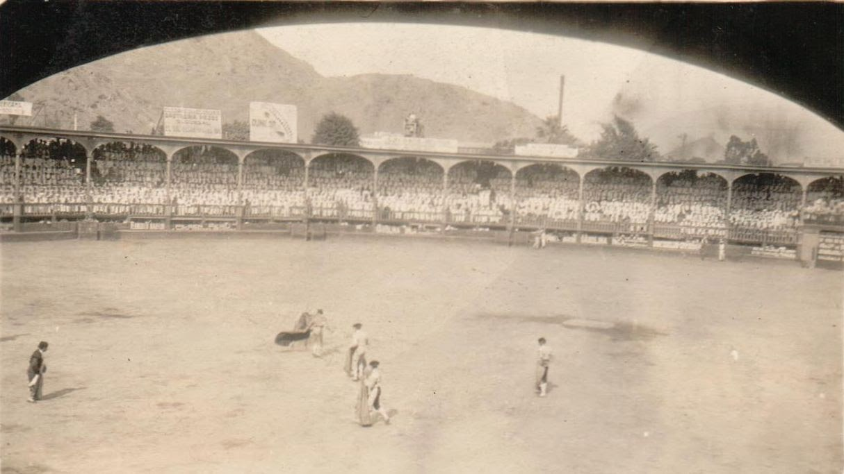 Bullfight Lima, Peru Plaza de Toros de Acho 1920s, collection of Ray Rucker