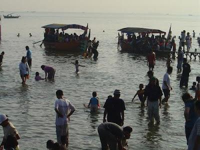 Tempat Wisata Pantai Maron Semarang 10