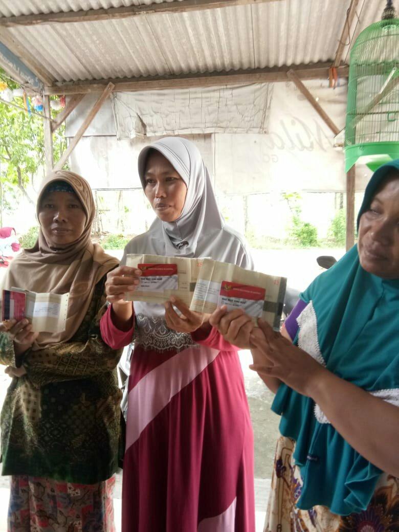 Oknum Kordes PKH Sarirejo Diduga Bermain Dalam Penyaluran Program BPNT