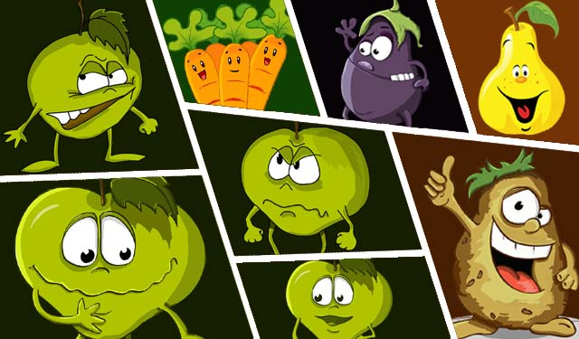 fruit cartoon images