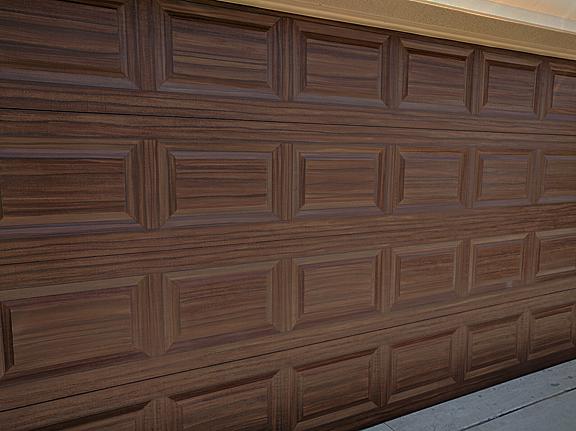 Garage Doors Finished Up Everything I Create Paint