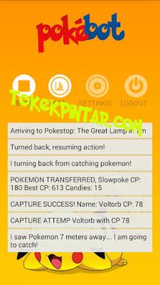PokeBot Android V1.0.1 Cara Menggunakan Bot Pokemon GO di Android Terbaru