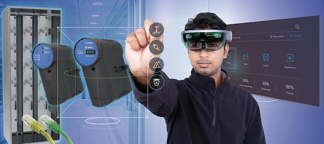 Первый наголовный компьютер с дисплеем-очками Honeywell Connected Plant Skills Insight для рабочих!