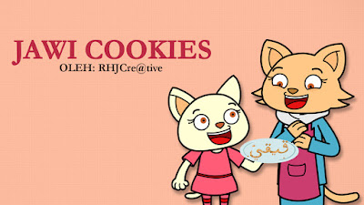 Video Animation for Jawi Cookies