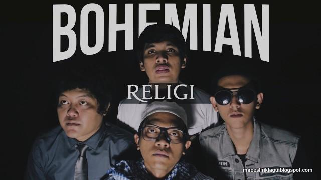 Lirik Bohemian Religi