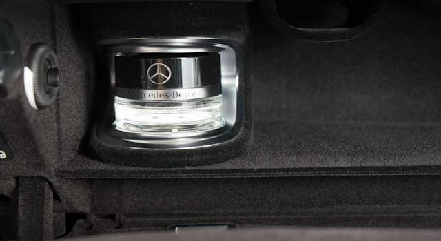 Mercedes C300 Coupe 2017 trang bị Hệ thống tạo hương thơm thông minh