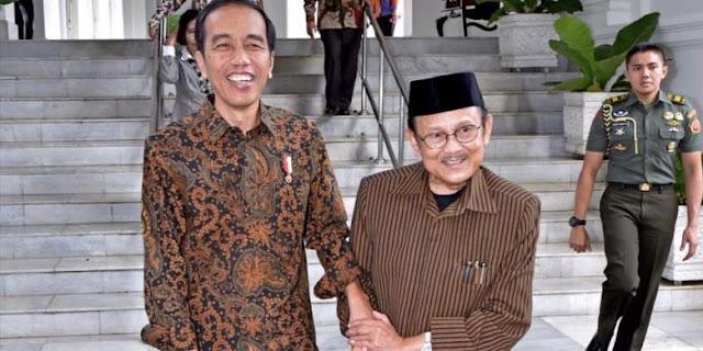Jokowi Telepon Habibie, Isi Percakapannya Bikin Haru