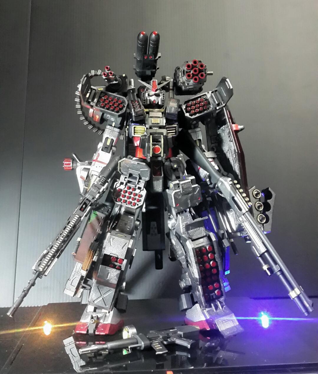 GUNDAM GUY: MG 1/100 RX-78-2 Gundam Heavyarms Custom