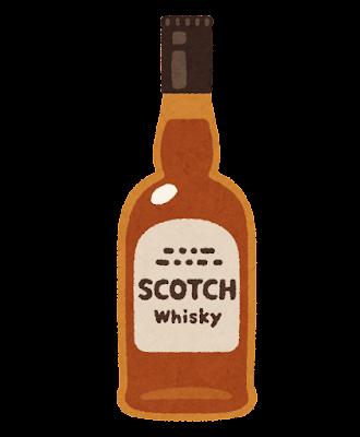 スコッチのイラスト(ウイスキー)