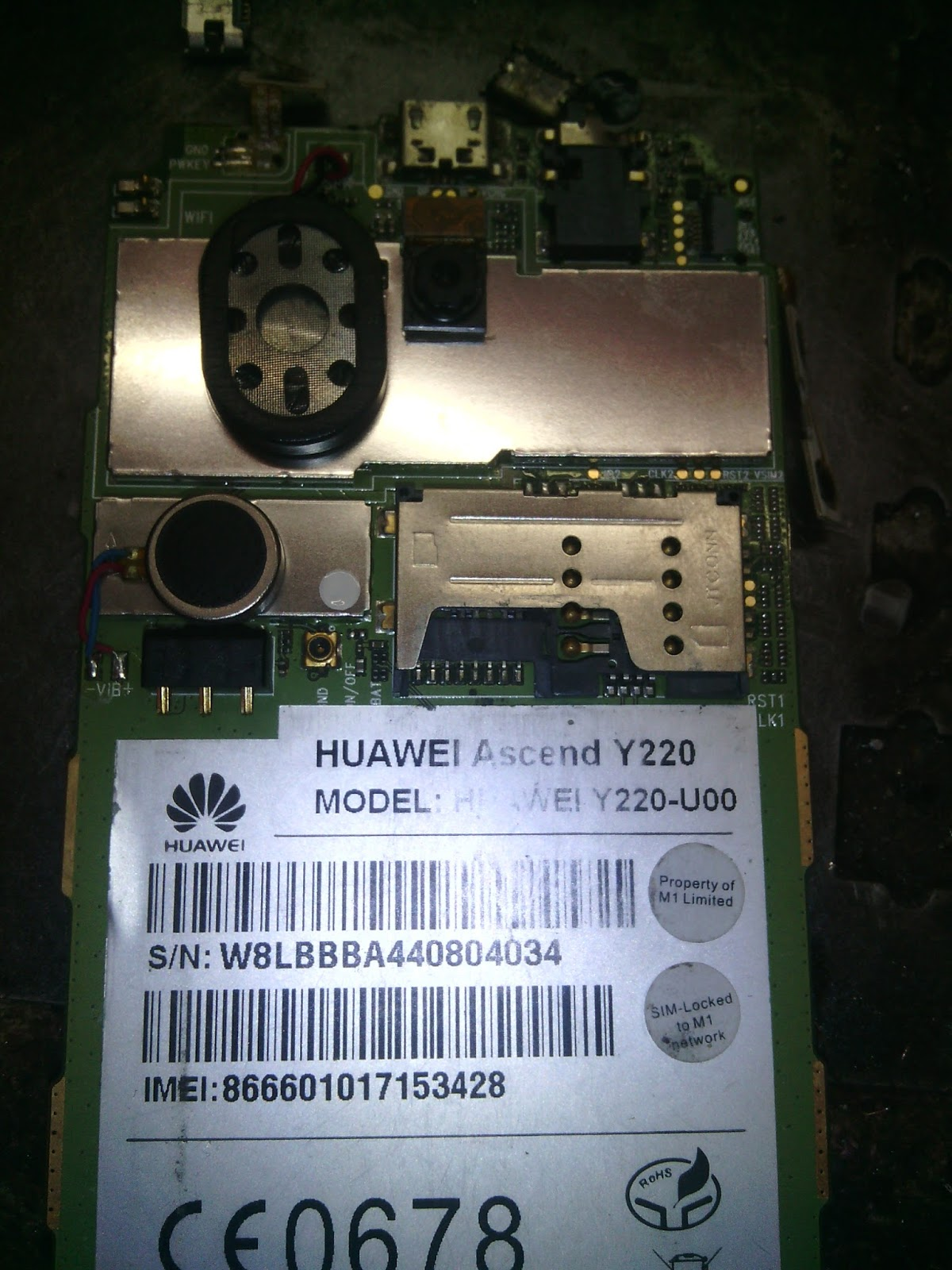 Mobile Hospital Gaibandha: HUAWEI Y220-U00 Firmware & Flash File