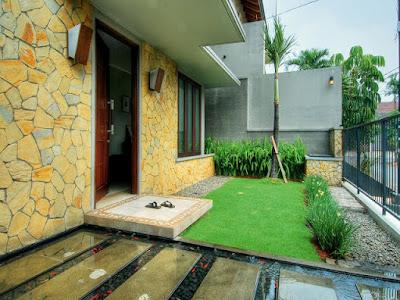Model Dinding Teras Rumah Minimalis 2019 Dengan Pesona Batu Alam Yang Lebih Natural Dan Alami 5