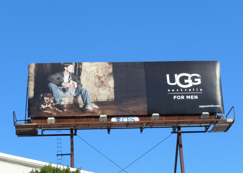 UGG Men slippers billboard