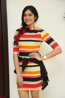 Adha Sharma in a Cute Colorful Jumpsuit Styled By Manasi Aggarwal Promoting movie Commando 2 (185).JPG