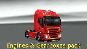 Powerful Engines & Gearboxes Pack version 10.3